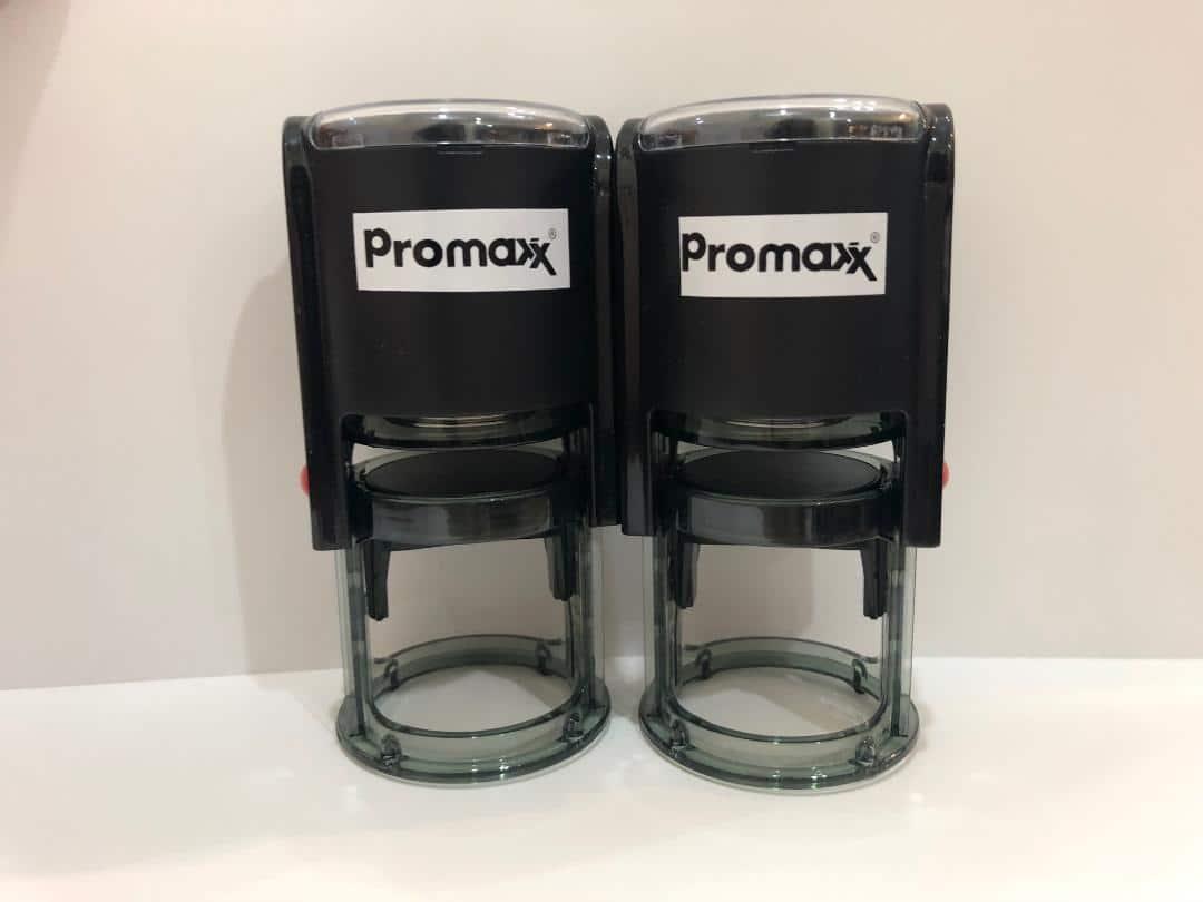 ตรายางหมึกในตัว promaxx