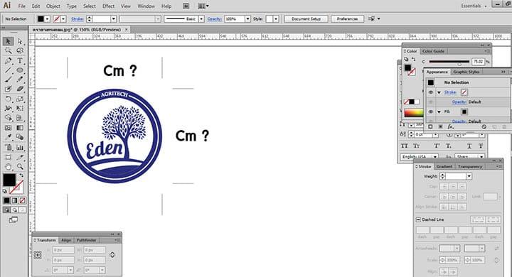 เตรียมออกแบบ logo